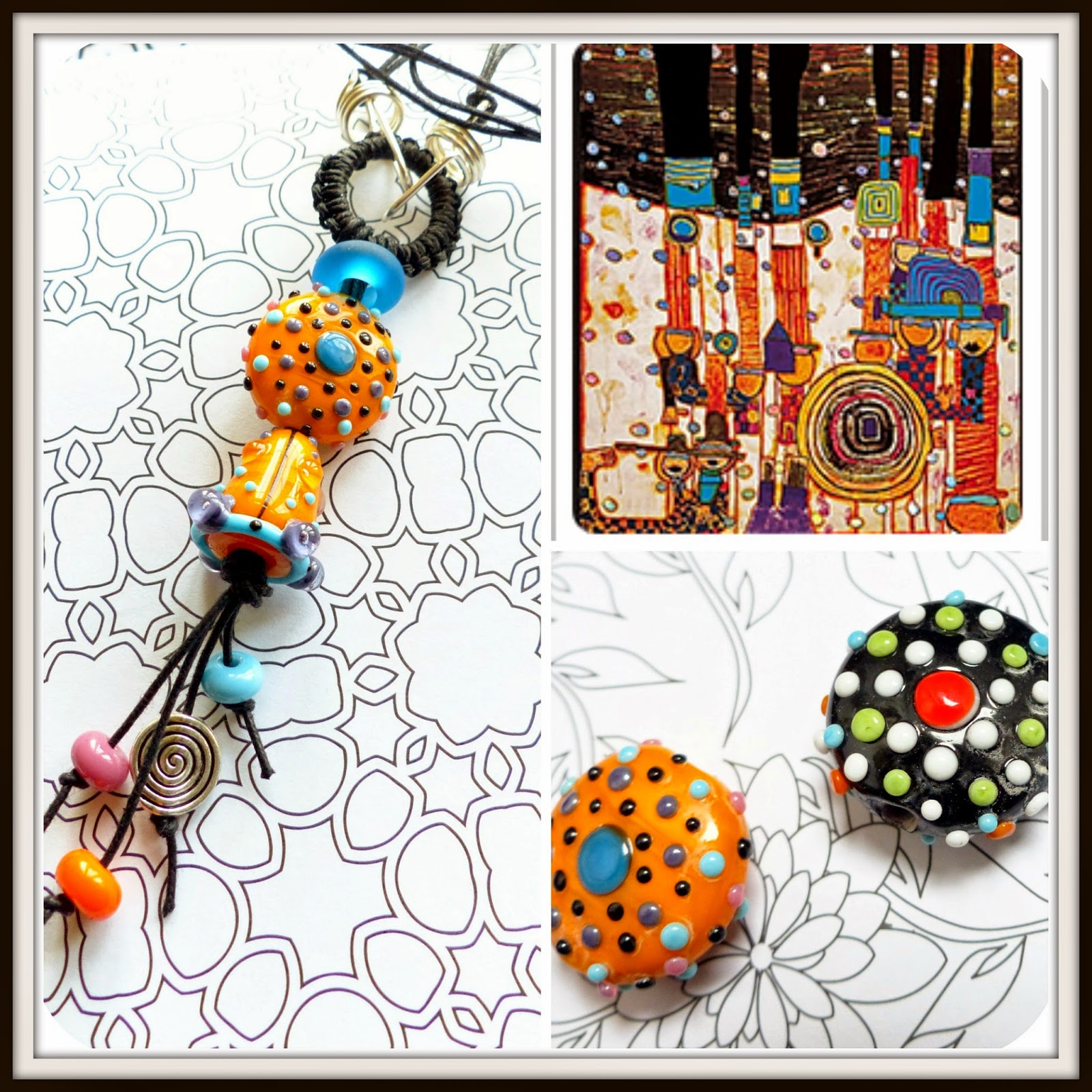 Colorful Wired Up Beads South Lake Motif - Electrical Diagram Ideas ...
