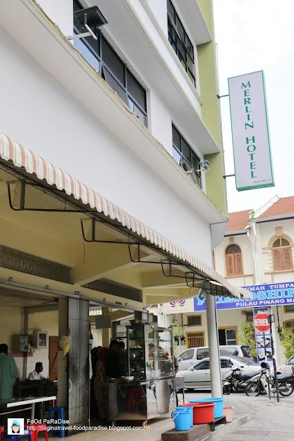 Old Merlin Nasi Kandar @ Union Street (Lebuh Union), Penang.