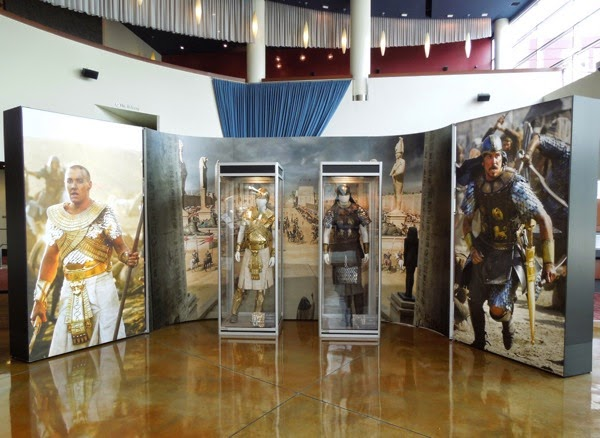 Exodus Gods and Kings movie costume exhibit