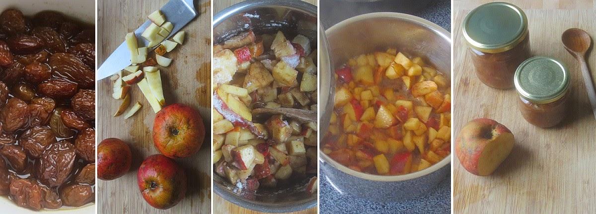 Zubereitung Bratapfel-Konfitüre - Bratapfelmarmelade selber machen