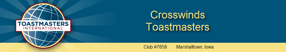 Crosswinds Toastmasters