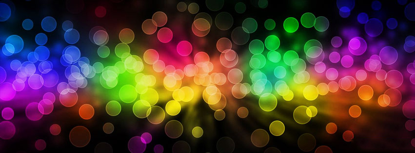 Mixed Beautiful Lights   Facebook Cover