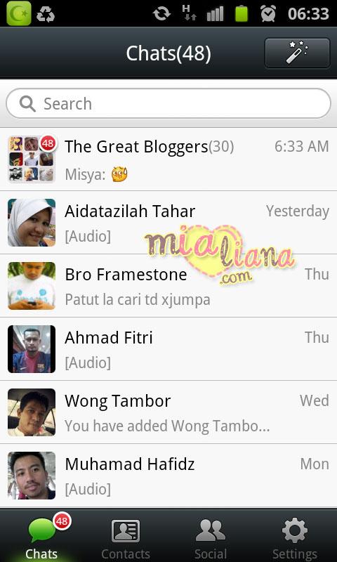 ... mereka. Ajaklah kawan-kawan dan ahli keluarga menggunakan WeChat