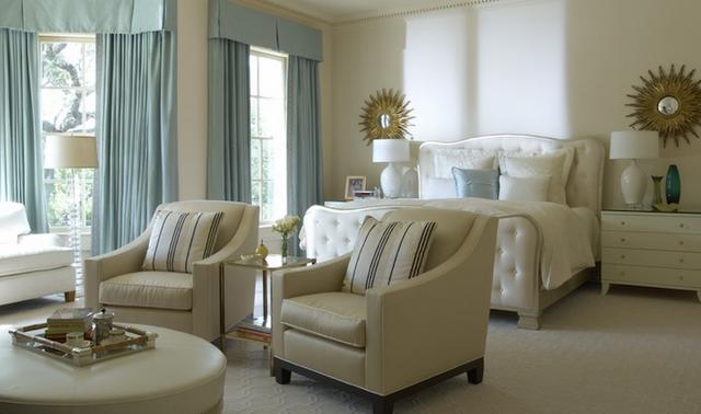 beautiful buildings beautiful blue cream bedroom
