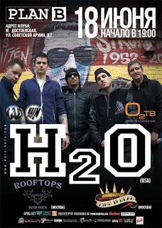 18 июня в Москве в клубе План Б состоится концерт легенд нью-йоркского мелодичного хардкора группы H20.