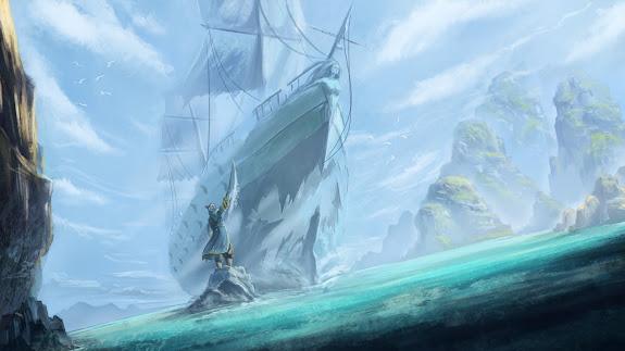 kunkka the admiral dota 2 game hd wallpaper , image