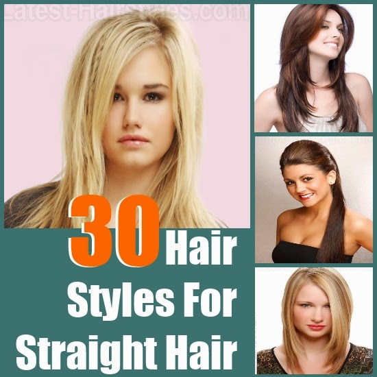 30 Extraordinary Hair Styles For Straight Hair