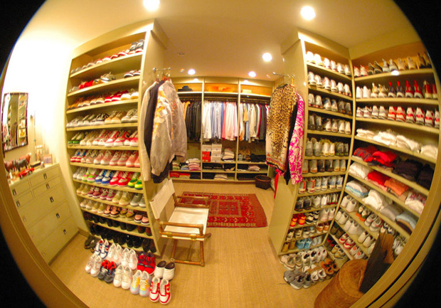 Walk In Closet From Burnham Design In Los Angelesshoes Galore