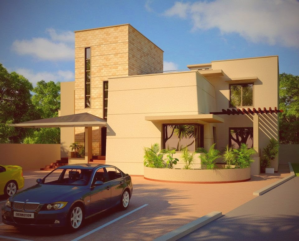 Front elevation of houses in rawalpindi joy studio for Beautiful home designs in pakistan
