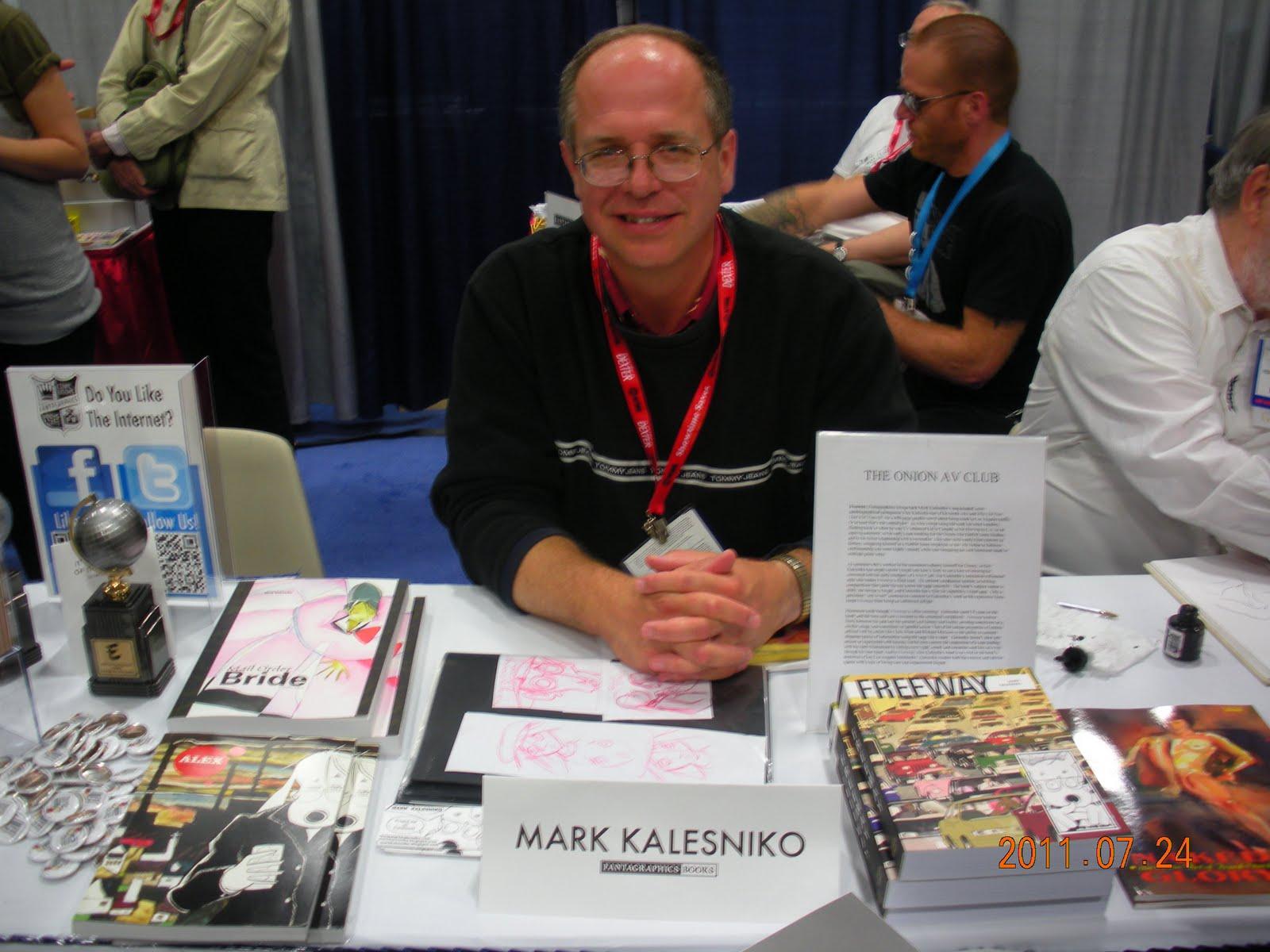 Stripovi o Alexu Kalienki i drugi radovi Marka Kalesnika DSCN6583