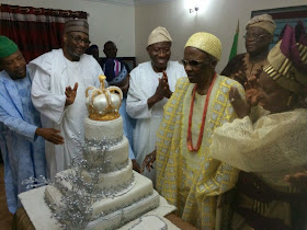 OLUBADAN OF IBADAN CLOCKS 100: