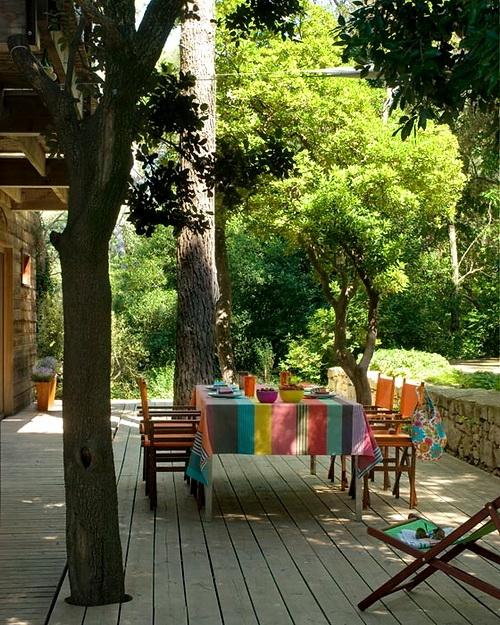 Estilo rustico patios rusticos y despojados i for Adornos para terrazas y patios