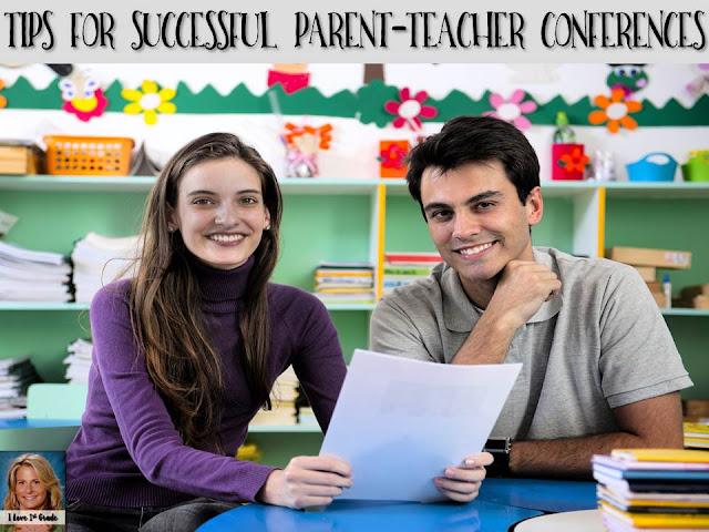 successful parent teacher conferences, tips for conferences