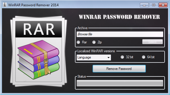 winrar password remover with crack free download filehippo
