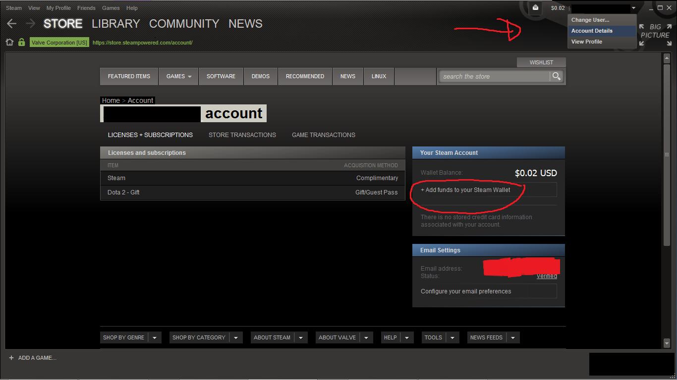 Cara Isi Steam Wallet Pakai Bank BCA, Mandiri, BNI