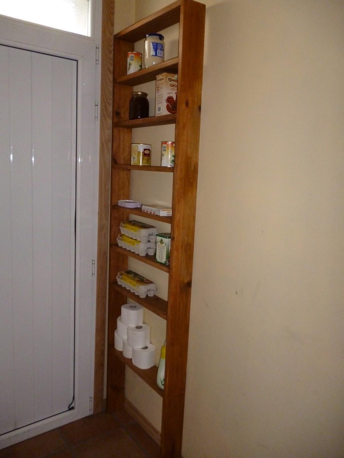 Estanter a para despensa pantry shelf el garaje de la - Estanterias para despensas ...