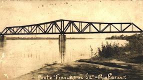 Foto histórica- ponte férrea