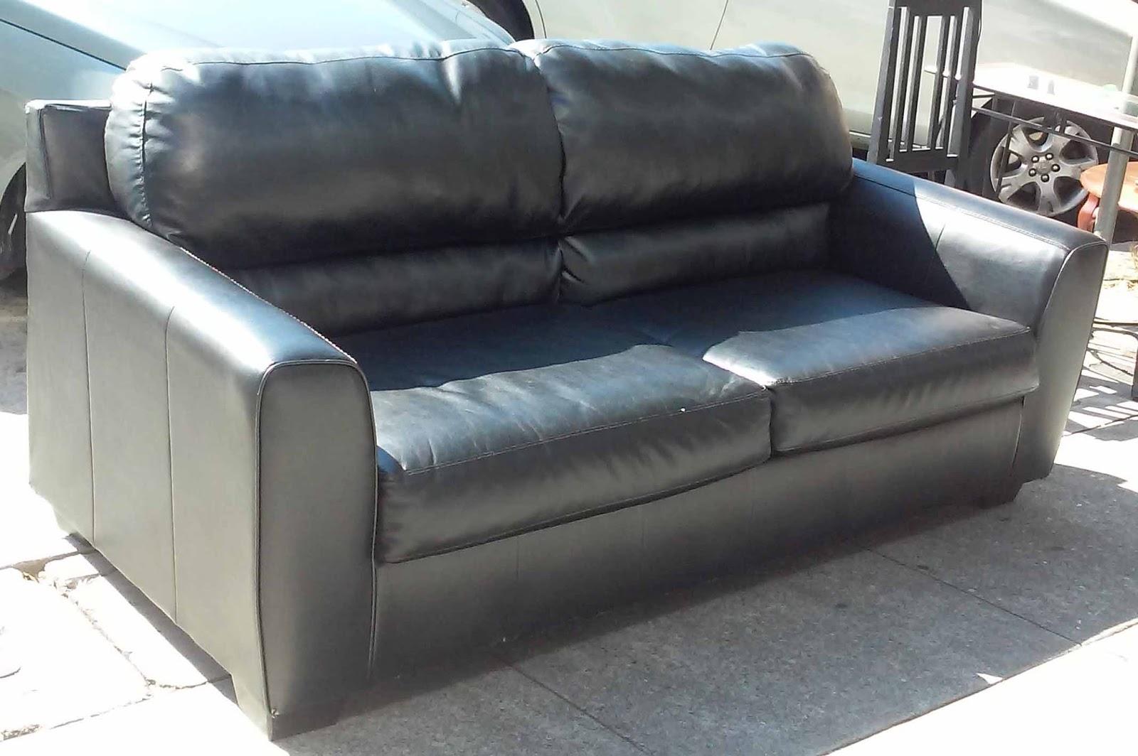 Sold Durablend Blended Leather Sofa 260