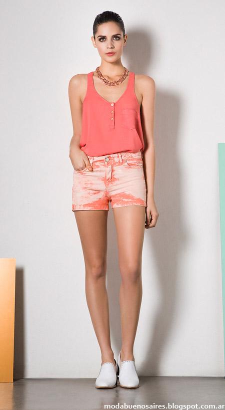 Shorts verano 2014. Moda 2014.