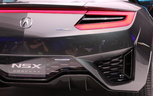 Acura NSX Concept Interior