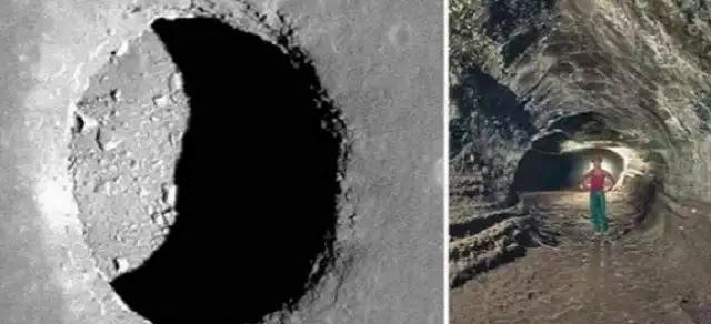 Υπόγειες στοές στη Σελήνη