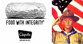 Chipotle & support of the Boy Scouts of America