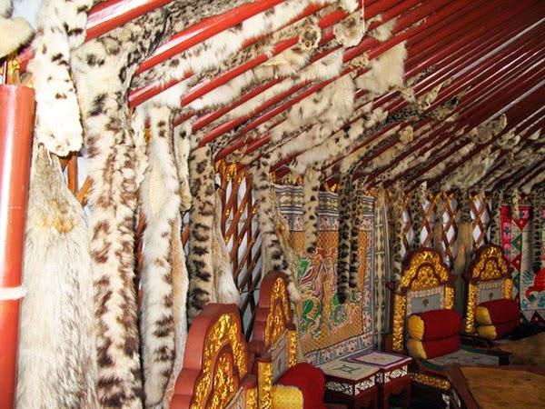 самая большая монгольская юрта в мире
