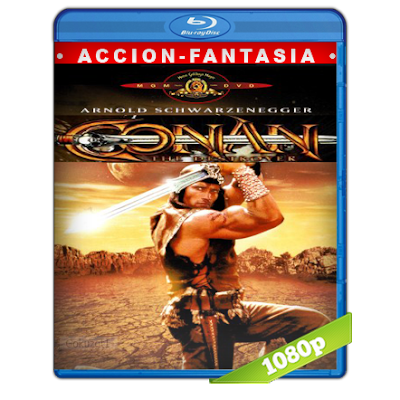 Conan El Destructor (1984) BRRip Full 1080p Audio Trial Latino-Castellano-Ingles 5.1
