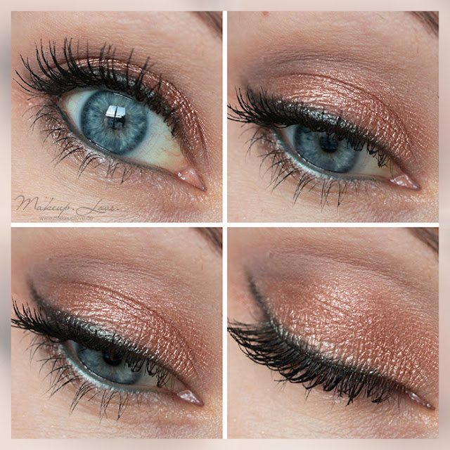 Colourpop La La Partridge AMU EOTD Rosegold green Eyes