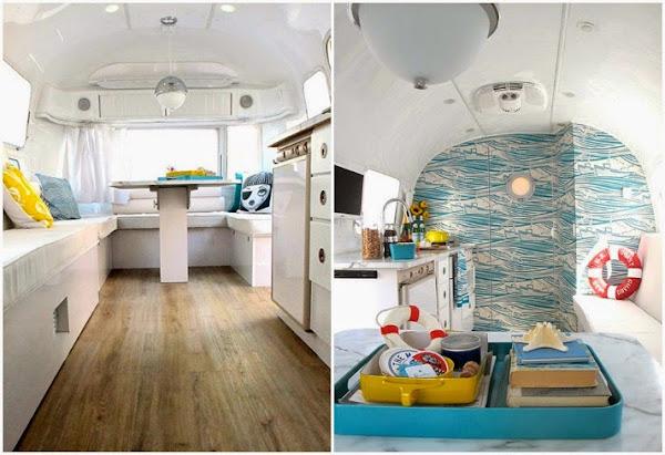 17 mejores ideas sobre interior de caravana en pinterest - Decoracion marinera barata ...