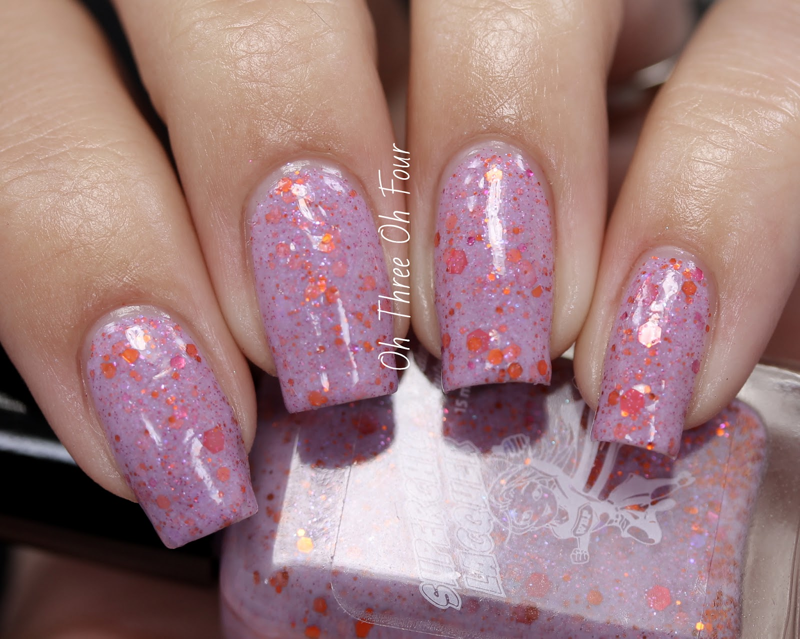 SuperChic Lacquer Thimble Kisses Swatch