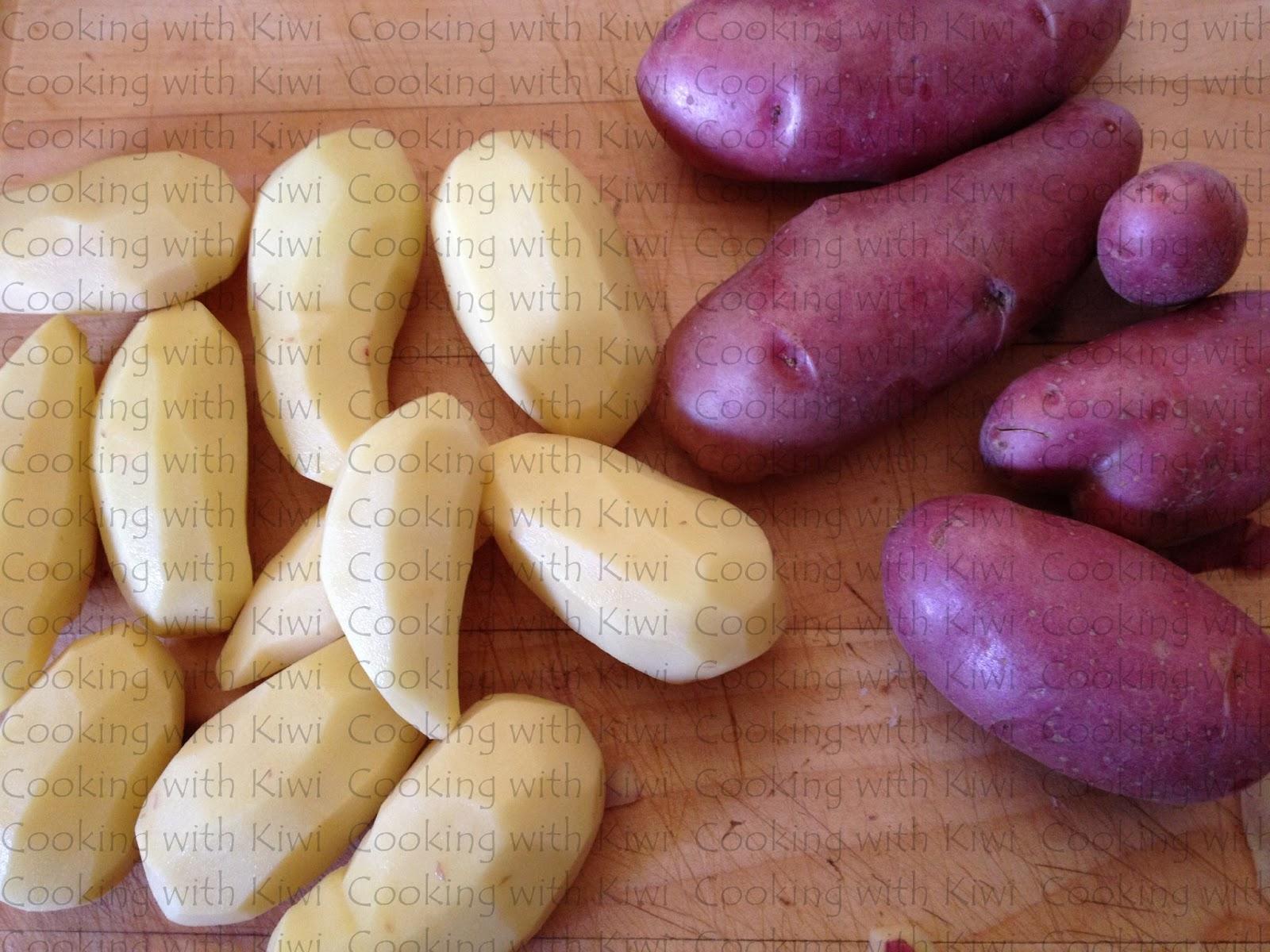 Cooking with kiwi patatas a la inglesa - Cuanto tarda en cocer una patata ...