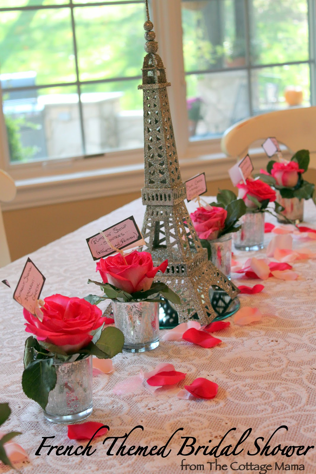 french themed bridal shower the cottage mama