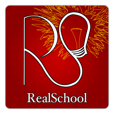 Our RealSchool logo is student-made