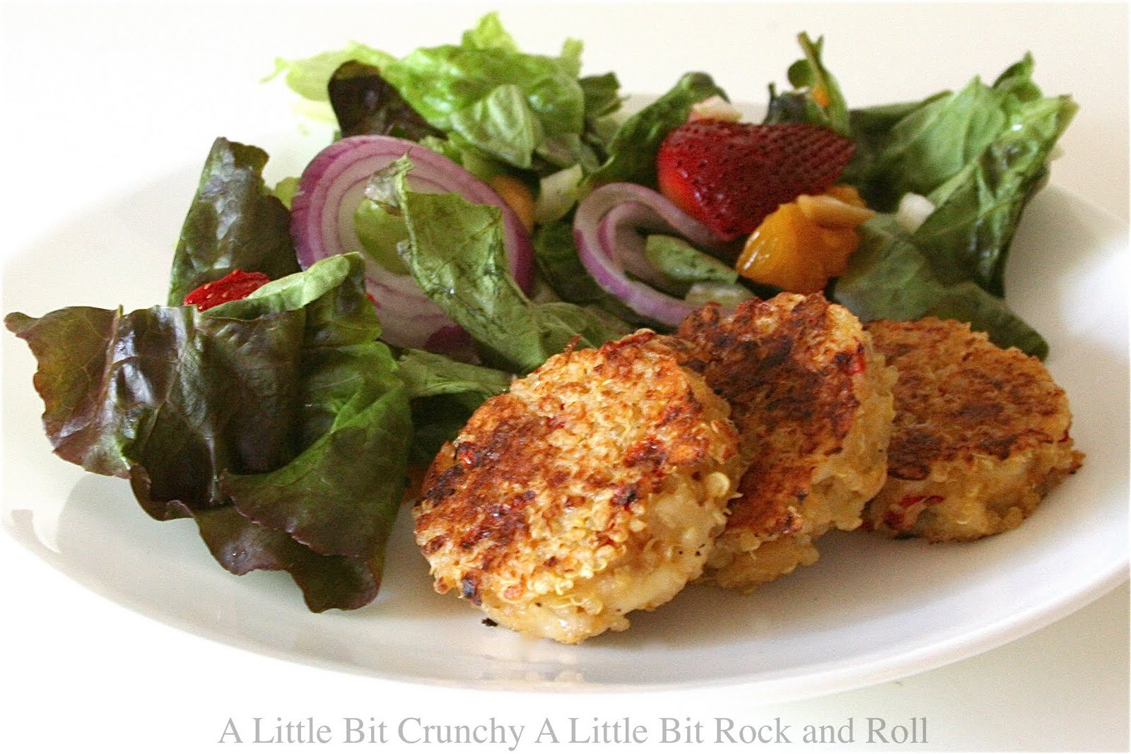 Little Bit Crunchy A Little Bit Rock and Roll: Quinoa Cakes with ...