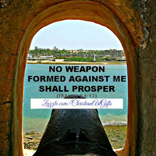 No weapon formed against me shall prosper Isaiah 54:17