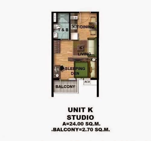 Asmara Condominium Studio Unit