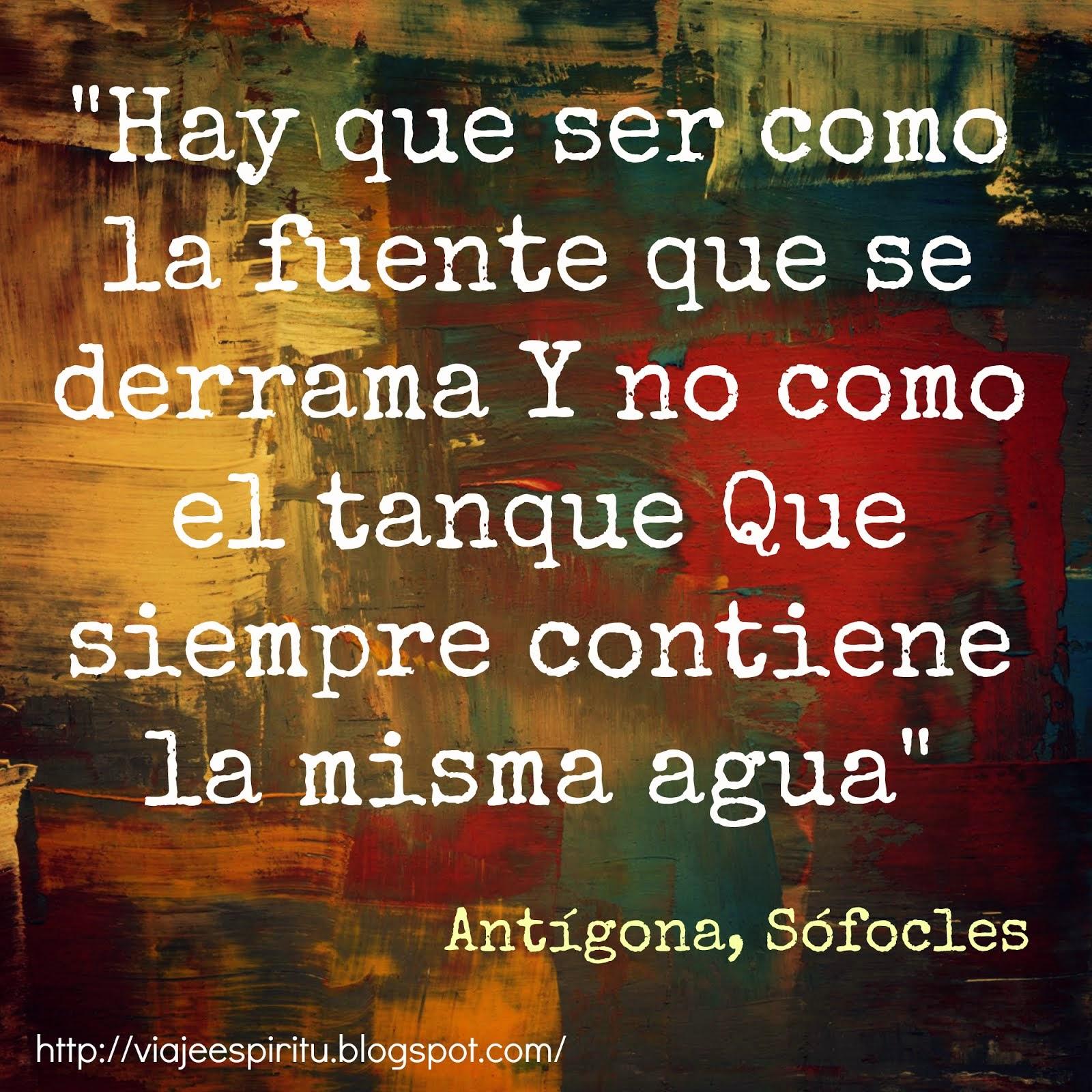Antígona, Sófocles