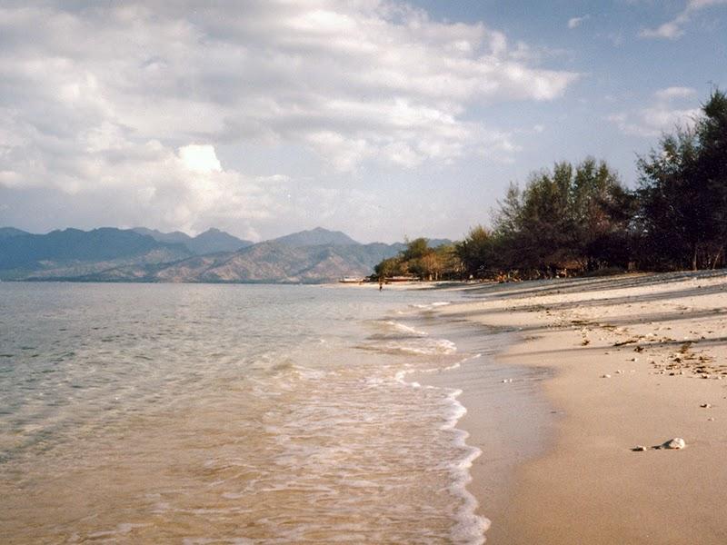 Photo de la plage à Gili Trawangan (Lombok), Indonésie
