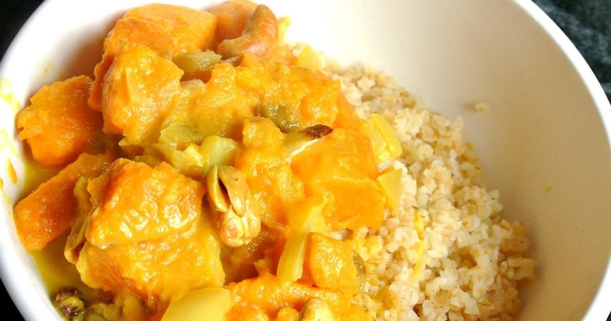 Popote et p p te curry de patates douces aux noix de - Quand recolter les patates douces ...