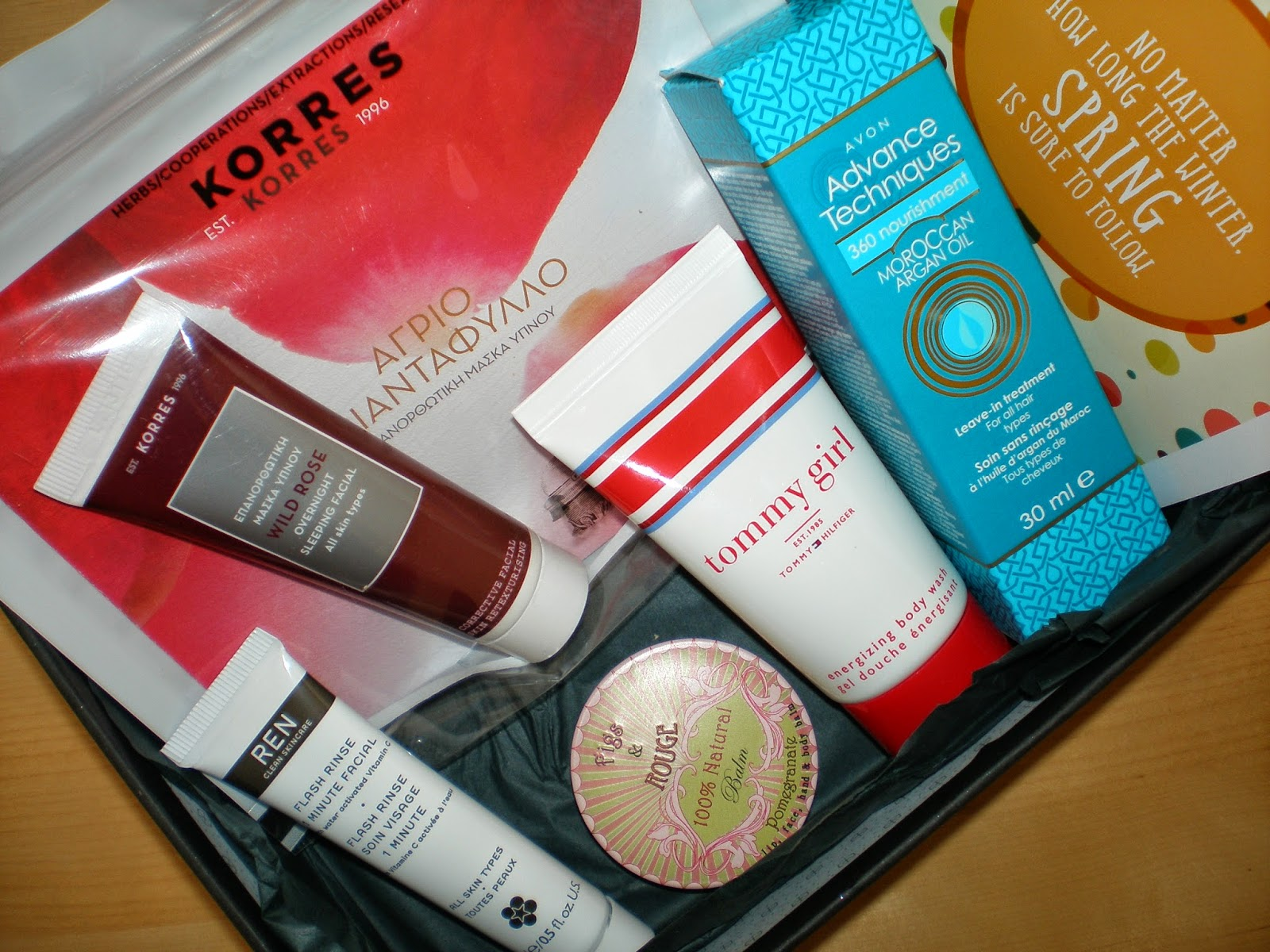 Glowbox April 2015 beauty box