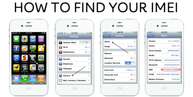 How To Find Imei On Iphone