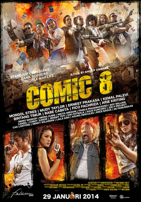 Film Comic 8 Lucu Indo 2014 | Download Film Indonesia Gratis