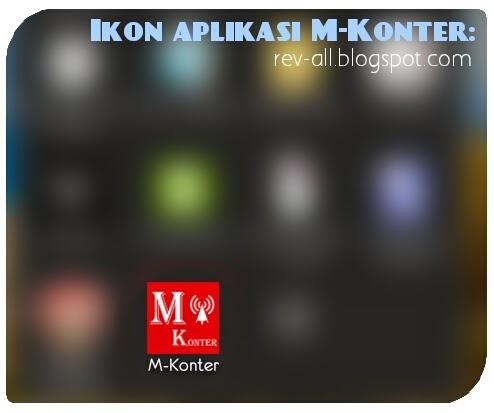 Ikon m-konter, aplikasi android untuk transaksi pulsa dengan mudah dan cepat (rev-all.blogspot.com)
