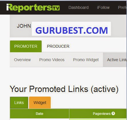 How To Get Approved On Ireporterstv.co as Ipromoter