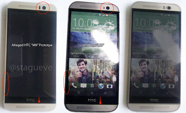 HTC One (M9) Prototype