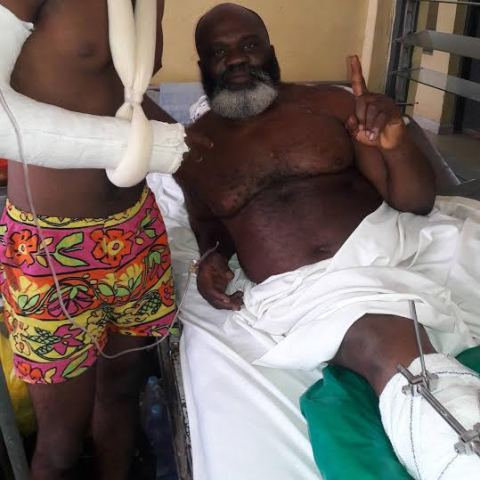 Nollywood actor, Harry Anyanwu was Almost killed in Enugu