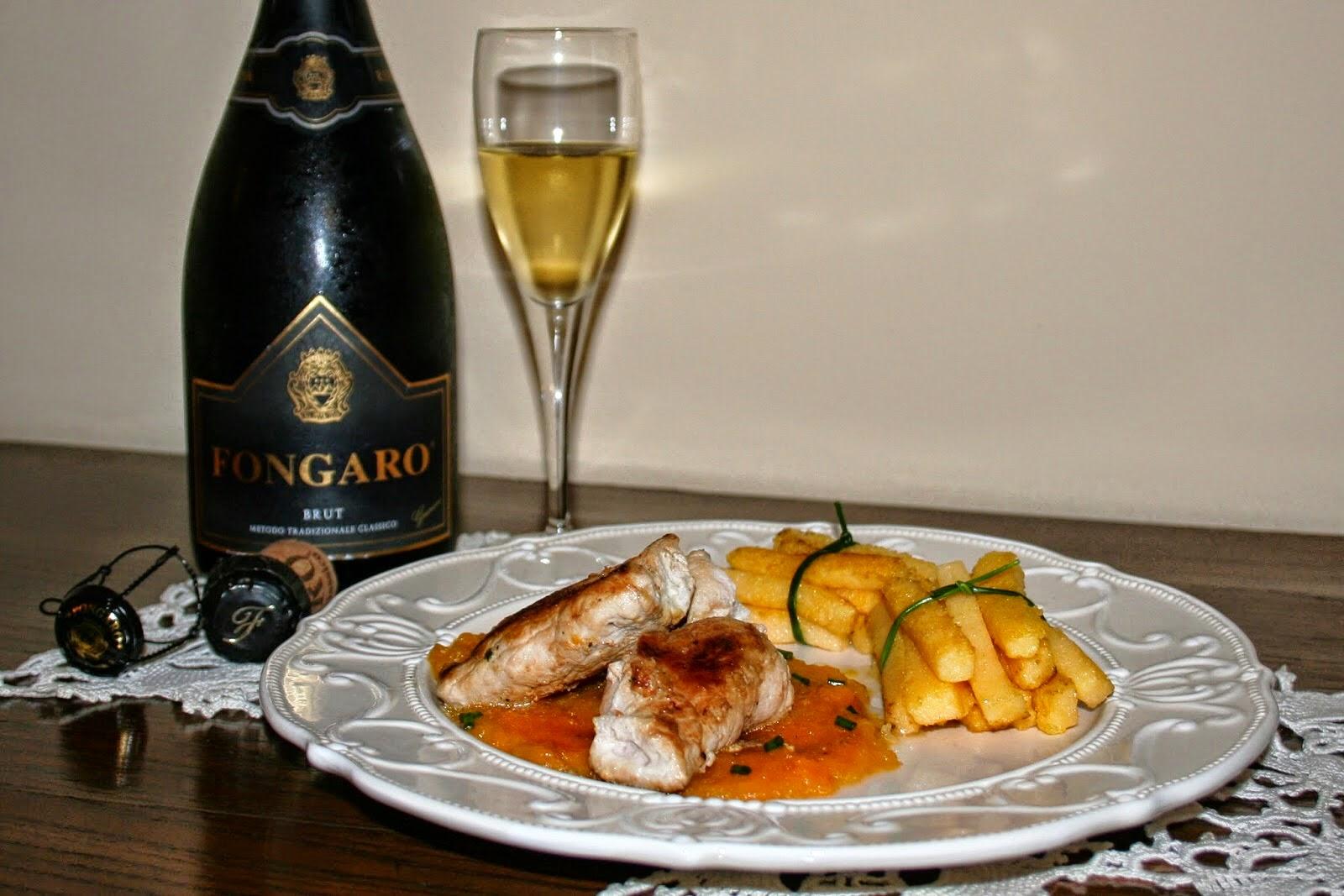 Con questa ricetta partecipo al 1° CONTEST FONGARO SPUMANTI