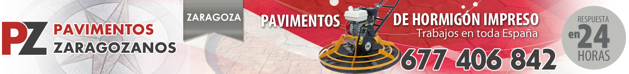 Pavimentos Zaragozanos 677406842 - Hormigón Impreso ECONÓMICO