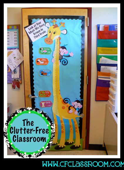 Forest Themed Classroom Decorations ~ Jungle safari classroom theme clutter free